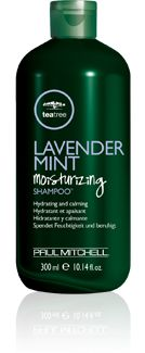 My hair can't get enough of this Paul Mitchel Tea Tree Lavender Mint Shampoo. The smell is intoxicating.