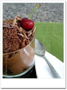 mousse francesa de chocolate