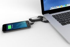 NomadClip Reinvents the USB Charging Cable