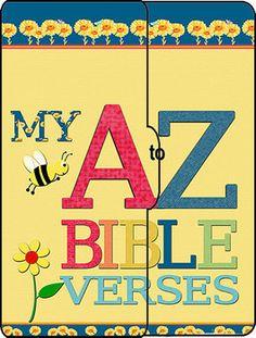 ABC Bible Verse Scrap-Lapbook (File Folder)