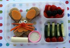 Toddler lunch idea