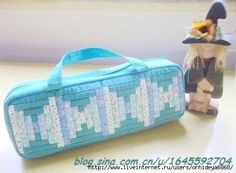 sewing, sew bag, cosmet bag, flutes, couture