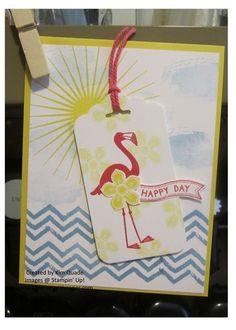 Stampin Up flamingo lingo stamp set