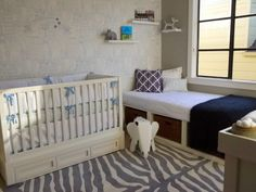 The perfect nursery for a little world traveler. #nursery