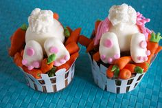 Ravenous Bunny Cupcakes, Easter & Spring Fun Foods & Creative Cuisine (includes directions)