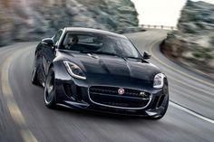 Jaguar F-Type coupe 2014 front cornering