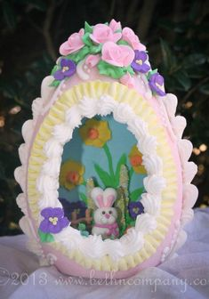 panoramic+easter+eggs+history | Panoramic Sugar Easter Egg from bethncompany.com