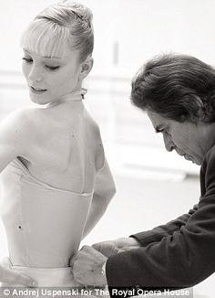 Alexander Agadzhanov and Sarah Lamb. Royal Ballet