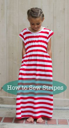 Sewing Stripes Tutorial