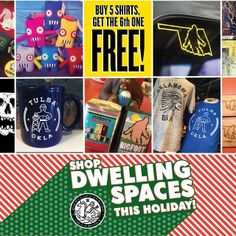 dwellingspaces in Tulsa is by far one of the best shops in town, and totally dedicated to all things Tulsa and Oklahoma made. Owner Mary Beth Babcock and her shopdog Molly are delightful and Joebot's Coffee inside the shop offers great treats to enjoy while browsing. Great place with a great vibe. #myhometownpins