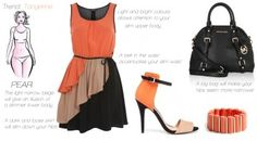Trendy dressing for your body type. Pear shaped