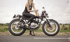 ZUI Racer, Yamaha Scorpio 225 cc by Verve Moto, Bali