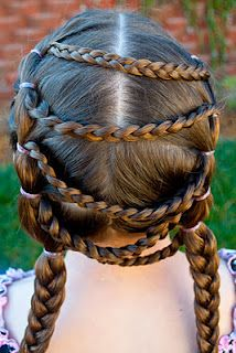Draped Braids @ Princess Piggies