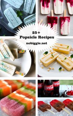 25+ Popsicle Recipes