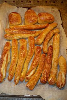 Homemade Pretzels... I just made these and they are pretty awesome! ~Jessica