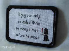 STAR WARS Darth Vader Framed Magnetic by SnarkyLittleStitcher, $8.00