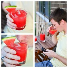 YUMMY WATERMELON DRINK FOR THE KIDS