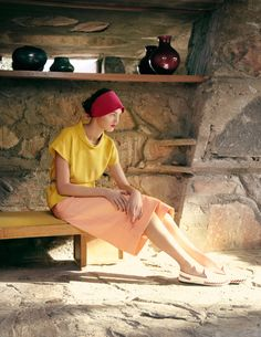 Frank Lloyd Wright's Taliesin West - Spring 2013 Clothing - Town & Country Magazine