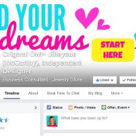 How to schedule your posts on your #OrigamiOwl Fan page