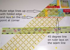 Sew Fresh Quilts: Mitered Border Quilt Tutorial