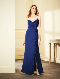 Alfred Angelo Long Bridesmaid Dress 7294L