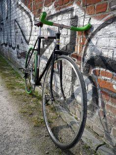 Fixie rétro sport Jacques Anquetil lillois