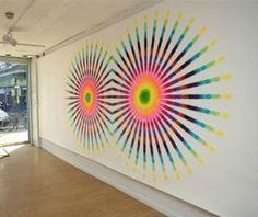 Lesley Halliwell's spirograph art