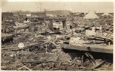 On March 18, 1925, the worst tornado in U.S. history passes through MO, IL,and IN, killing 695 people, injuring 13,000 people, and causing $17M in property damage. Known as the Tri-State Tornado, it had a diameter of more than a mile, traveled at speeds in excess of 70 mph, spent more than three hours on the ground, traveled 219 miles, and devastated 164 square miles.