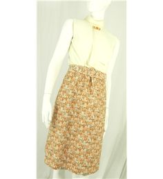 #Vinatge #1960's Peter Barron Size 8 'Retro Office Chic' Dress and jacket Featuring Exotic Geo print