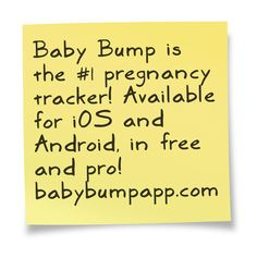 Pinned for BabyBump, the #1 mobile pregnancy tracker with the built-in community for support and sharing.