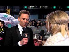 Tom Hiddleston - Film Awards Red Carpet 2013