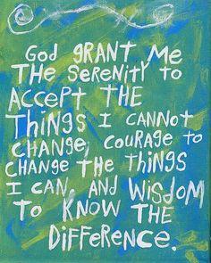 serenity prayer art   Serenity Prayer