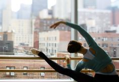 dance studio, teenage dream, window, the view, ballet workouts, city views, dance fashion, ballet barre, the city