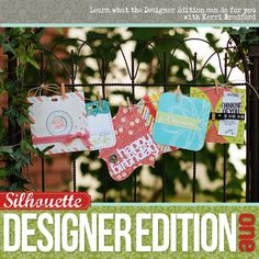 In this amazing class Kerri Bradford will show you all the goodies that you can play with in Silhouette Studio's Designer Edition. It will take your paper crafting to a whole new level!
