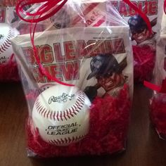 party favors, baseball birthday party, 10th birthday, basebal parti, baseball party
