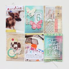 #projectlife week 6 (left side) - by Janna Werner