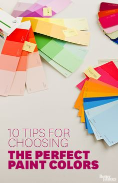 With these expert strategies, you'll be choosing paint colors like a pro: http://www.bhg.com/decorating/color/how-to-choose-paint-colors/?socsrc=bhgpin040814paintcolors