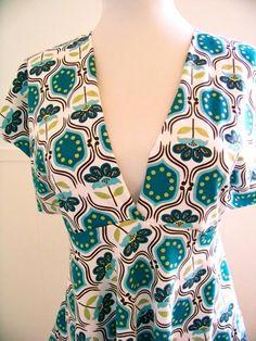 Sewing  - free Spring Blouse Pattern