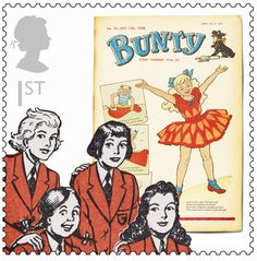Bunty comic and The Four Mary's