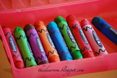 Edible Crayons - The Idea Room