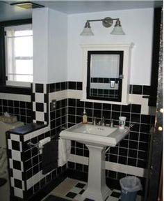 Small old bathroom on pinterest 1930s bathroom small for 1930 style bathroom ideas