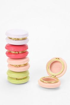 colorful macaron boxes.
