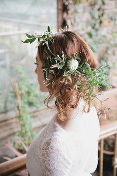 Beautiful jasmine floral crown