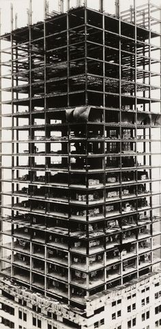 Chrysler building under construction, NYC 1929