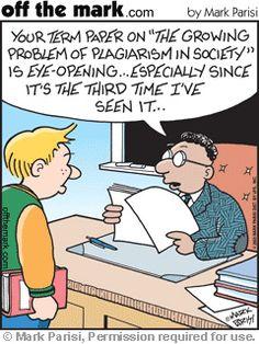 #plagiarism cartoon