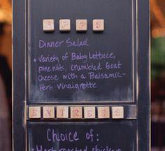 door inspir, cabinets, chalkboards, pantry doors, menu boards
