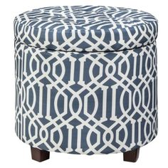 Storage ottomans create a dual function...perfect for extra seating and storing extra things!