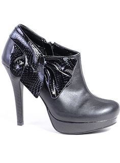 Raven Rendezvous Ankle Booties at PLASTICLAND