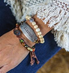 Show Your Heart Stack Bracelets.