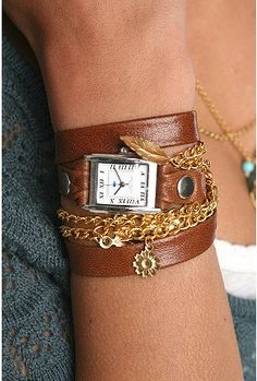 Beautiful wrap watch.